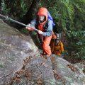 雨の登山もまた一興!  ノベ☆スタ大崩山登山