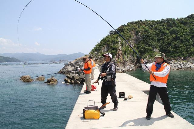 ⑥海釣り体験(初級)