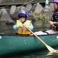 福岡からのモニターがカヌーなど体験