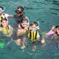 サンゴやたくさんの熱帯魚見たよ!  島野浦でシュノーケリング体験