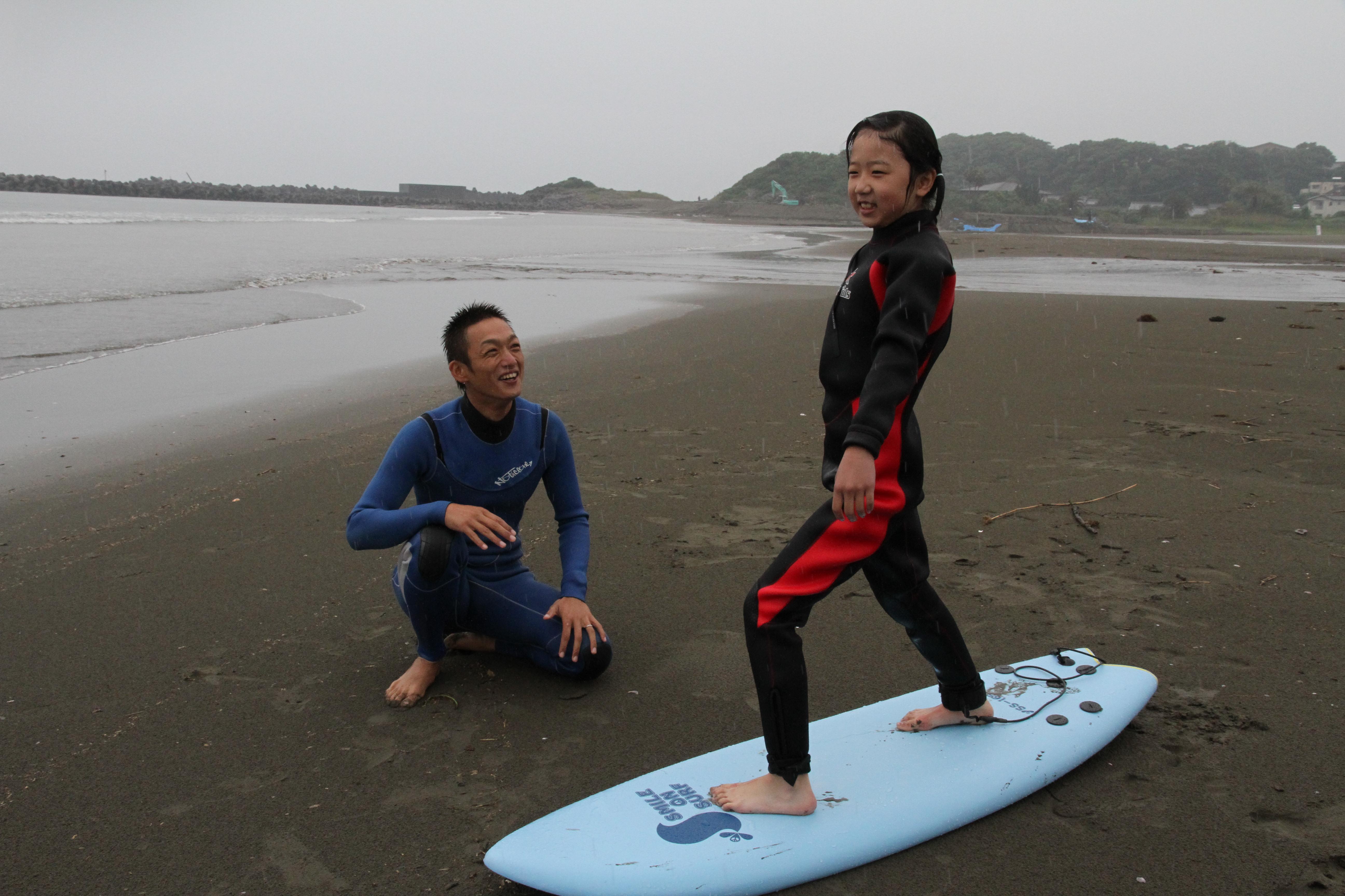 ④サーフィン体験